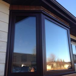 Brown Bay Window - After